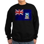 Falkland Islands Flag Sweatshirt (dark)
