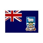 Falkland Islands Flag Rectangle Magnet (10 pack)