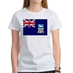 Falkland Islands Flag Women's T-Shirt
