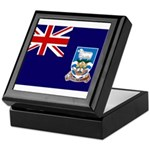 Falkland Islands Flag Keepsake Box