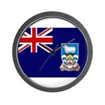 Falkland Islands Flag Wall Clock