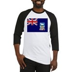 Falkland Islands Flag Baseball Jersey