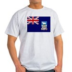 Falkland Islands Flag Light T-Shirt
