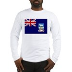 Falkland Islands Flag Long Sleeve T-Shirt