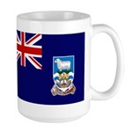 Falkland Islands Flag Large Mug