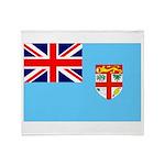 Fiji Flag Throw Blanket