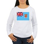 Fiji Flag Women's Long Sleeve T-Shirt