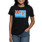 Fiji Flag Women's Dark T-Shirt