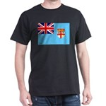 Fiji Flag Dark T-Shirt