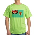 Fiji Flag Green T-Shirt