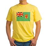 Fiji Flag Yellow T-Shirt