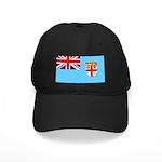 Fiji Flag Black Cap