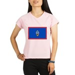 Guam Flag Performance Dry T-Shirt
