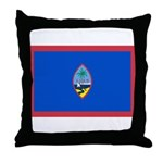 Guam Flag Throw Pillow