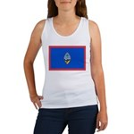 Guam Flag Women's Tank Top