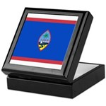 Guam Flag Keepsake Box