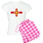 Guernsey Flag Women's Light Pajamas
