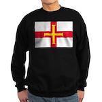 Guernsey Flag Sweatshirt (dark)