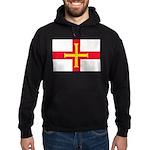 Guernsey Flag Hoodie (dark)