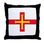 Guernsey Flag Throw Pillow