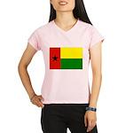 Guinea Bissau Flag Performance Dry T-Shirt