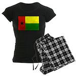 Guinea Bissau Flag Women's Dark Pajamas