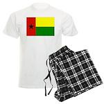 Guinea Bissau Flag Men's Light Pajamas