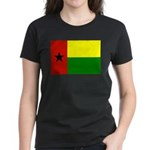 Guinea Bissau Flag Women's Dark T-Shirt