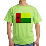 Guinea Bissau Flag Green T-Shirt