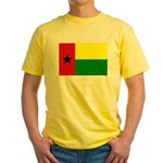 Guinea Bissau Flag Yellow T-Shirt