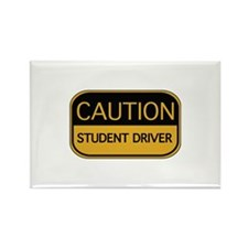 CAUTION Student Driver Rectangle Magnet (10 pack)