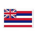 Hawaii Flag Car Magnet 20 x 12