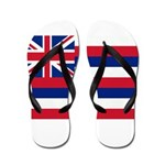 Hawaii Flag Flip Flops