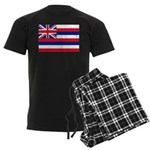 Hawaii Flag Men's Dark Pajamas
