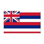 Hawaii Flag 22x14 Wall Peel