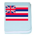 Hawaii Flag baby blanket