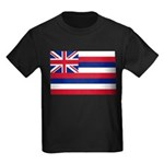 Hawaii Flag Kids Dark T-Shirt