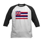 Hawaii Flag Kids Baseball Jersey