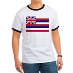 Hawaii Flag Ringer T