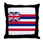 Hawaii Flag Throw Pillow