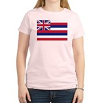 Hawaii Flag Women's Light T-Shirt
