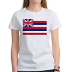 Hawaii Flag Women's T-Shirt