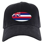 Hawaii Flag Black Cap