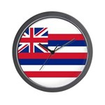 Hawaii Flag Wall Clock