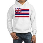 Hawaii Flag Hooded Sweatshirt