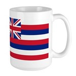 Hawaii Flag Large Mug