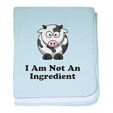 Ingredient Cow baby blanket
