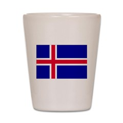Iceland Flag Shot Glass