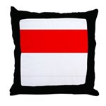 Indonesia Flag Throw Pillow