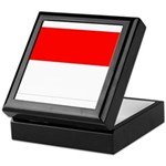 Indonesia Flag Keepsake Box